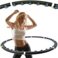 Hula Hoop Weighted Magnetic Fitness Exercise Free Postage